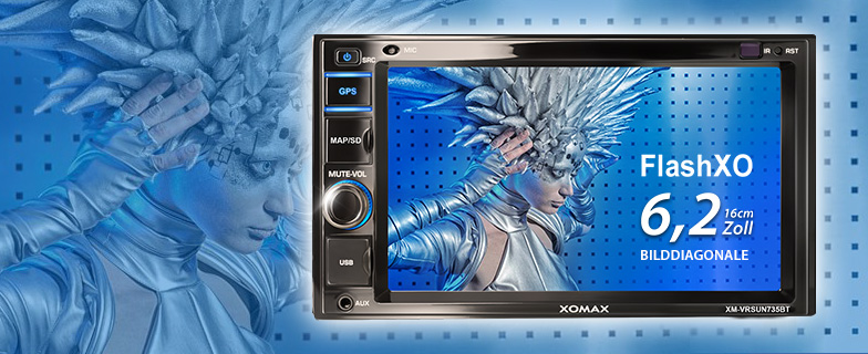 XOMAX XM-2VRSU734BT Video FlashXO