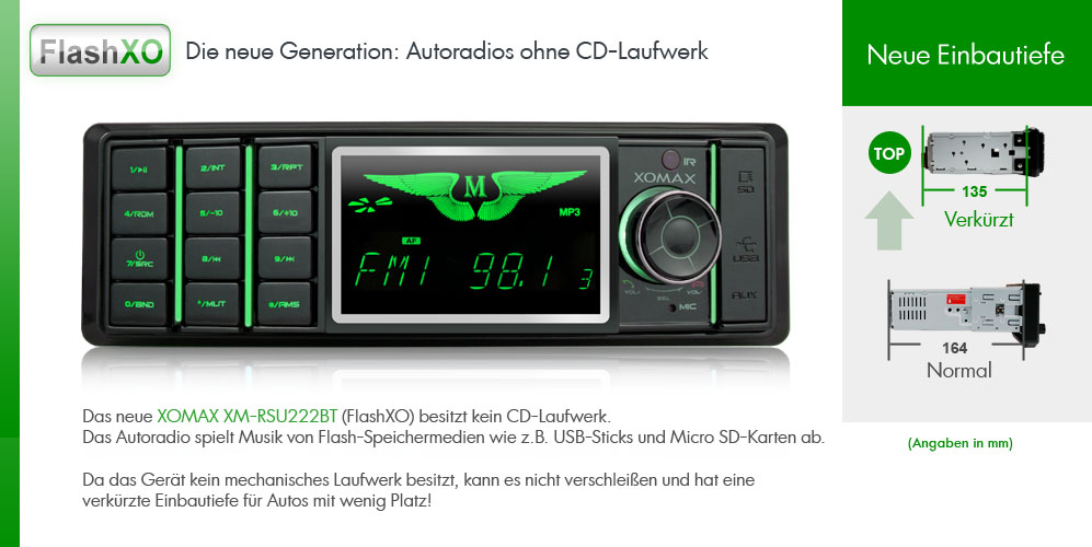 autoradio mit bluetooth usb micro sd 64gb mp3 aux in rds. Black Bedroom Furniture Sets. Home Design Ideas