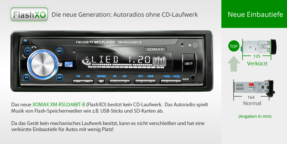 autoradio mit bluetooth usb micro sd mp3 id3 aux in 1din. Black Bedroom Furniture Sets. Home Design Ideas