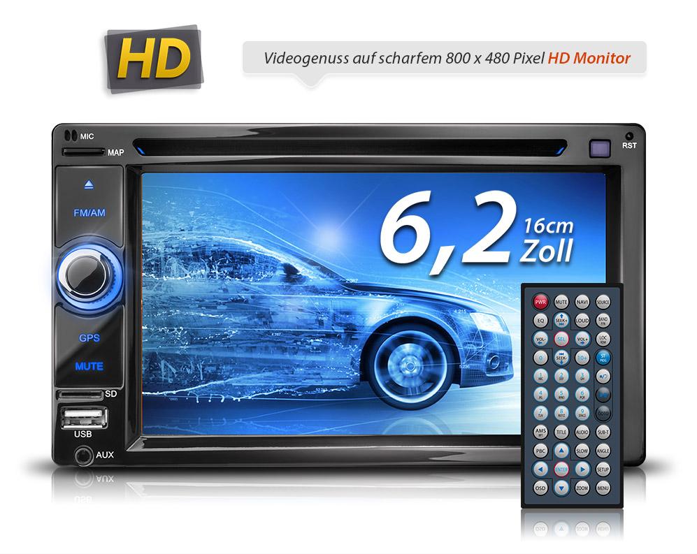 autoradio navi gps navigation bluetooth touchscreen dvd cd. Black Bedroom Furniture Sets. Home Design Ideas