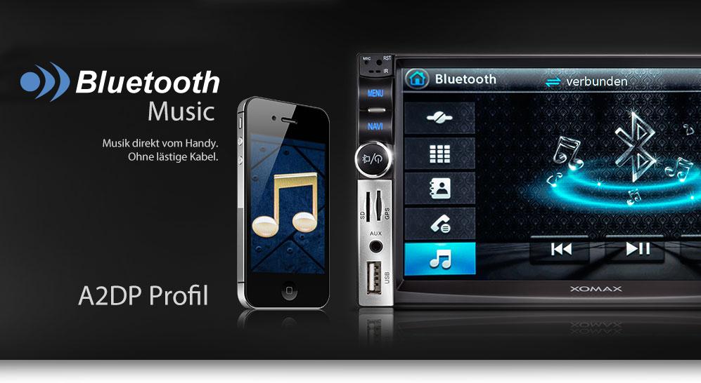 autoradio mit gps navigation navi bluetooth video. Black Bedroom Furniture Sets. Home Design Ideas