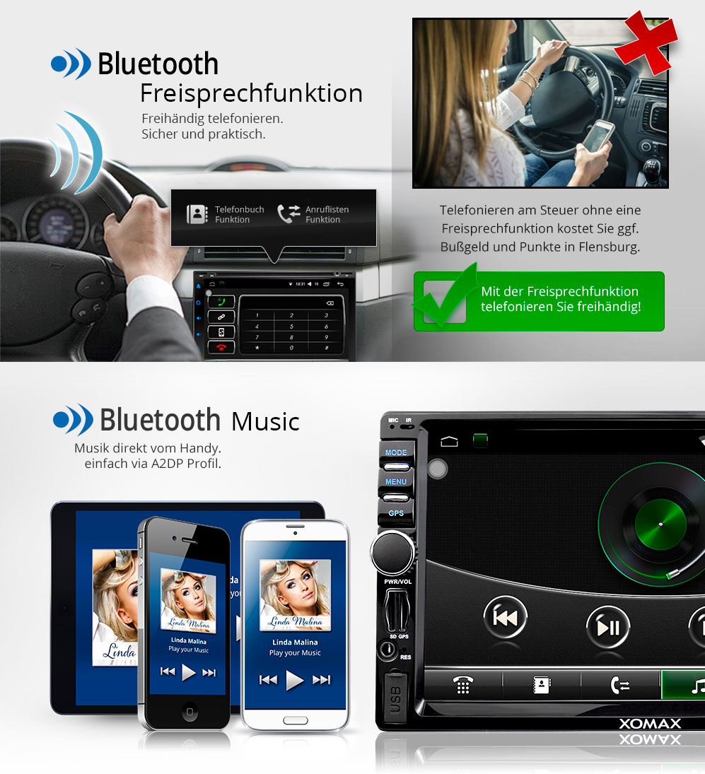autoradio mit android 5 1 1 navigation gps wifi obd2 bluetooth bildschirm 2din ebay. Black Bedroom Furniture Sets. Home Design Ideas