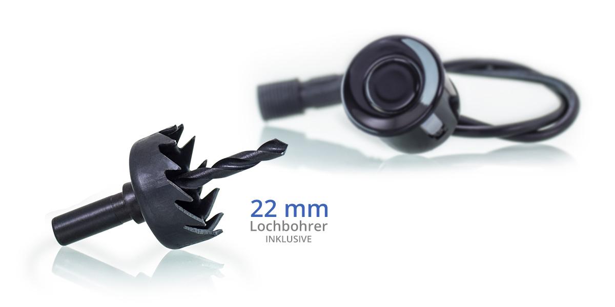 einparkhilfe vorne hinten 8 sensoren bildschirm ton. Black Bedroom Furniture Sets. Home Design Ideas