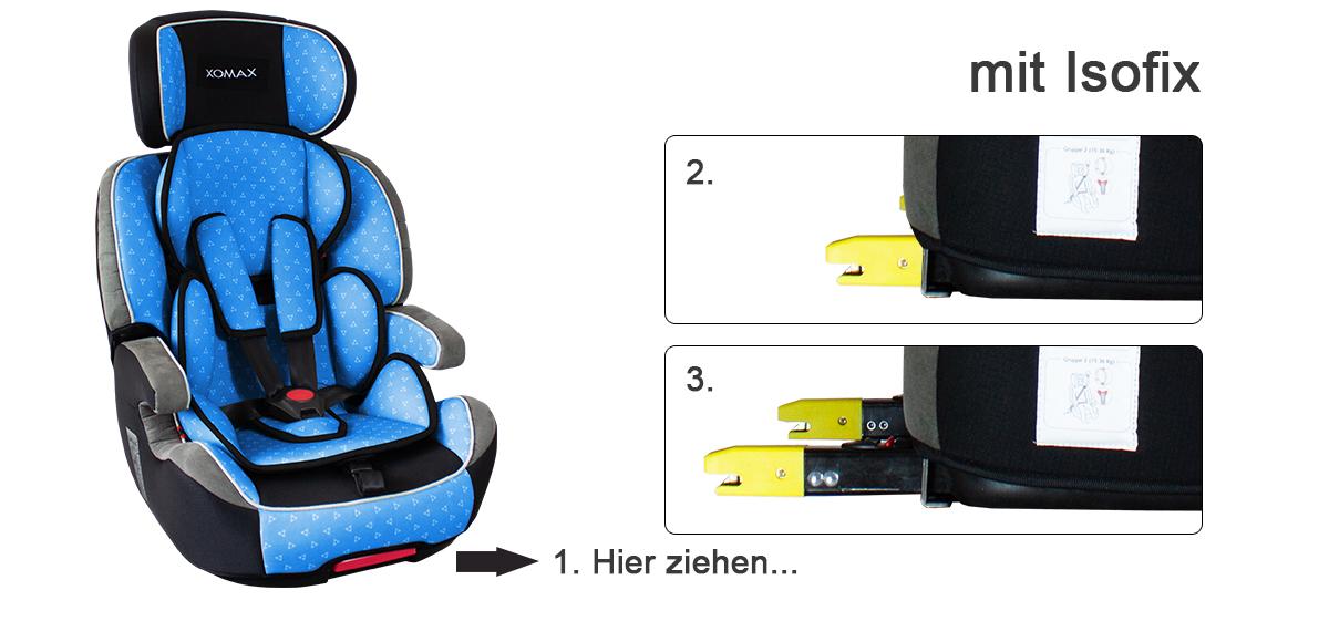 isofix auto kindersitz 9 36kg gruppe 1 2 3 ece autositz. Black Bedroom Furniture Sets. Home Design Ideas
