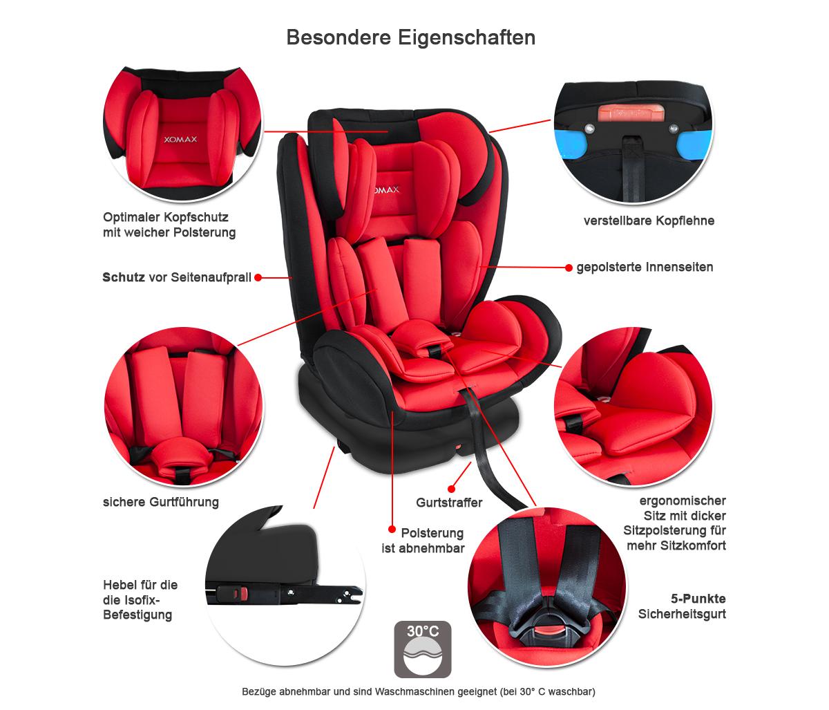 isofix auto kindersitz 0 36kg gruppe 0 1 2 3 ece autositz 360 drehbar ver farben ebay. Black Bedroom Furniture Sets. Home Design Ideas