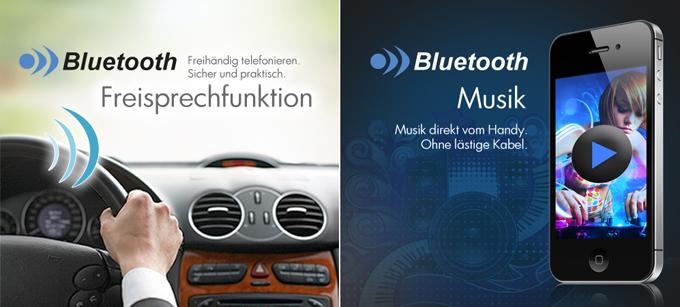 autoradio mit gps navigation navi bluetooth touchscreen. Black Bedroom Furniture Sets. Home Design Ideas