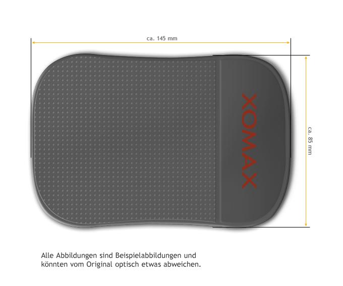 2x xomax anti rutsch matte auto kfz handy smartphone. Black Bedroom Furniture Sets. Home Design Ideas