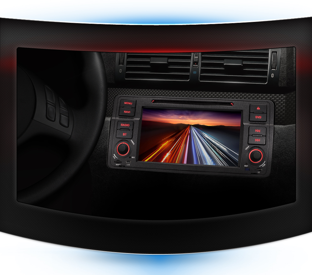 Detalles De Autoradio Radio De Coche Bmw E46 Navegador Gps Bluetooth Sd Usb Mp3 1din Cd Dvd
