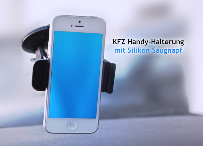 universal kfz auto halterung halter f r handy smartphone iphone ipod samsung ebay. Black Bedroom Furniture Sets. Home Design Ideas