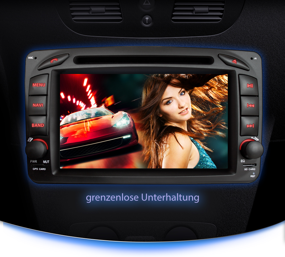 autoradio f r mercedes benz mit navi gps kaufen auf. Black Bedroom Furniture Sets. Home Design Ideas