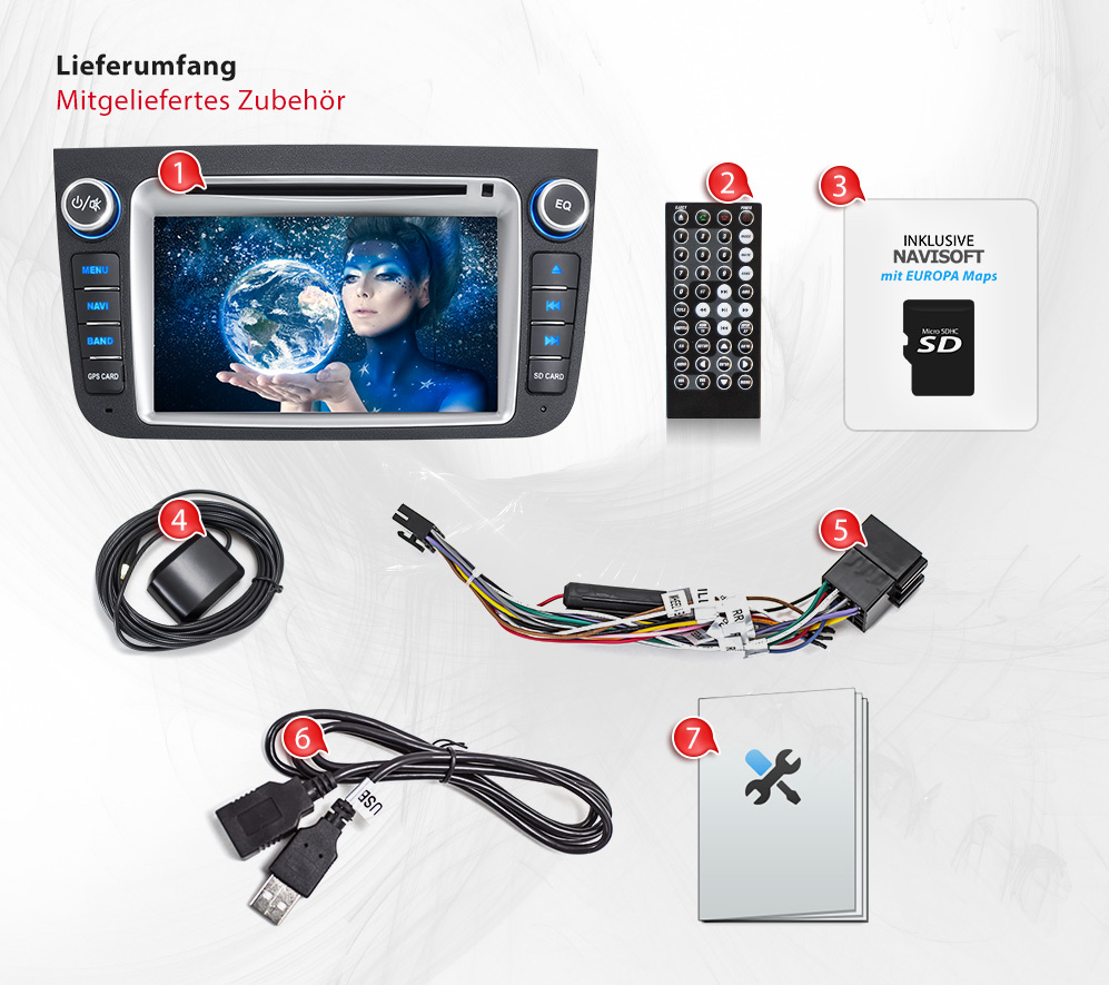 autoradio f r smart fortwo 451 mit navi gps navigation dvd cd usb sd doppel 2din ebay. Black Bedroom Furniture Sets. Home Design Ideas