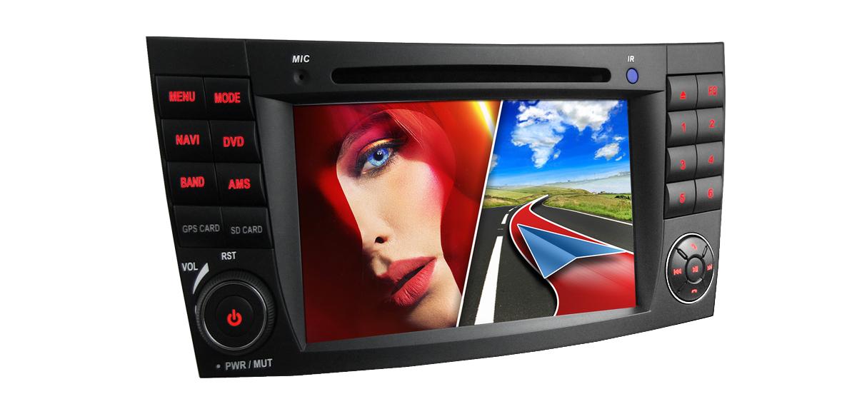 CAR STEREO RADIO HEAD UNIT FITTING FOR MERCEDES W211 W219
