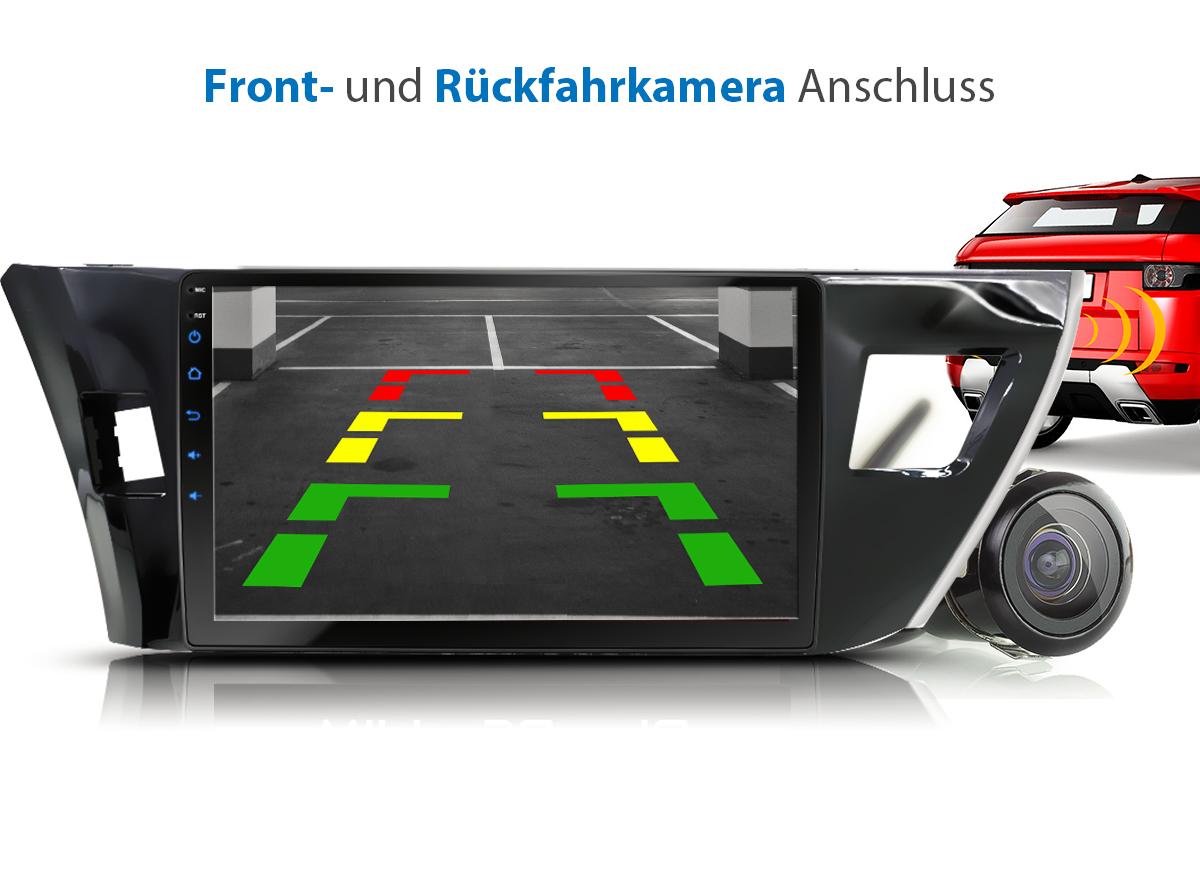 10 1 autoradio mit android 7 1 1 2gb passend f r toyota. Black Bedroom Furniture Sets. Home Design Ideas