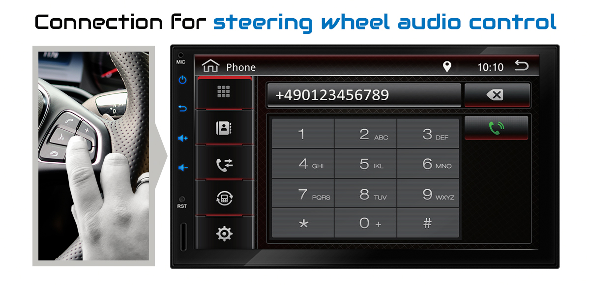 """7"""" CAR STEREO WITH ANDROID 7.1.1 BLUETOOTH NAVIGATION DAB+ ..."""