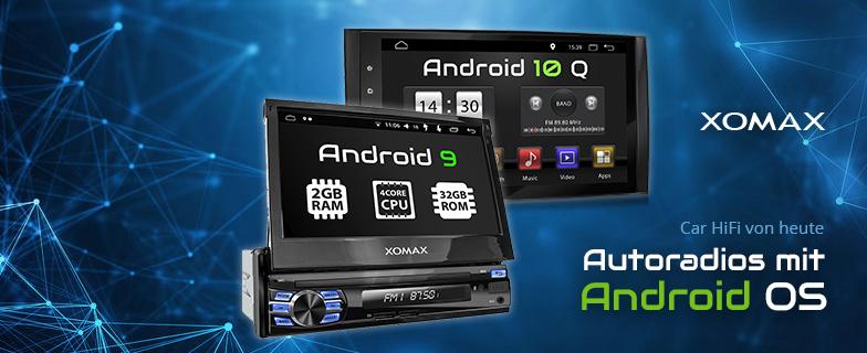 XOMAX Autoradios mit Android OS