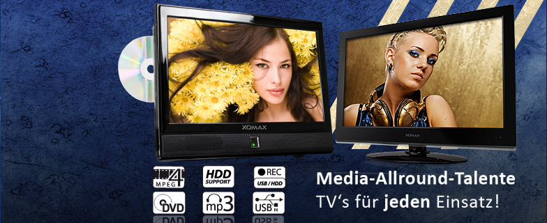 12 Volt Fernseher All-In-One
